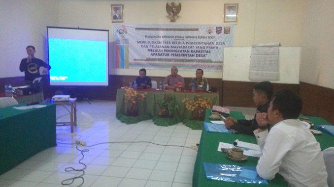 Peningkatan Kapasitas Kasi dan Kaur Desa Se-Kecamatan Parungkuda