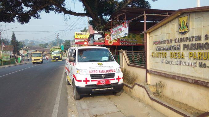 Pengadaan Kendaraan Ambulans Desa