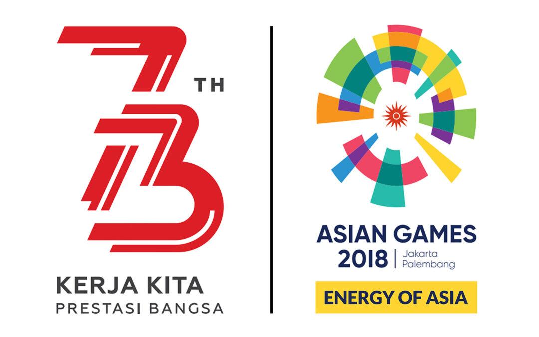 Logo dan Tema Resmi Peringatan HUT Ke-73 Kemerdekaan RI Tahun 2018