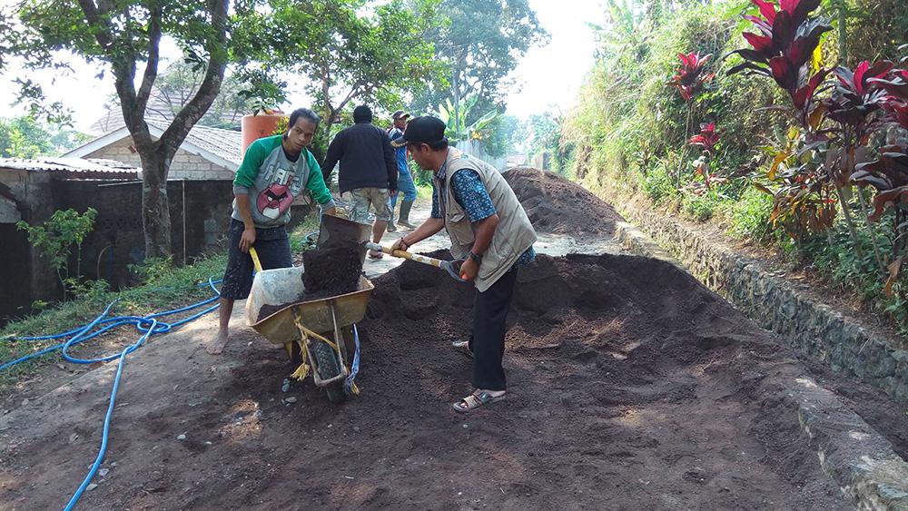 Pembangunan Jalan Desa dari Dana Desa