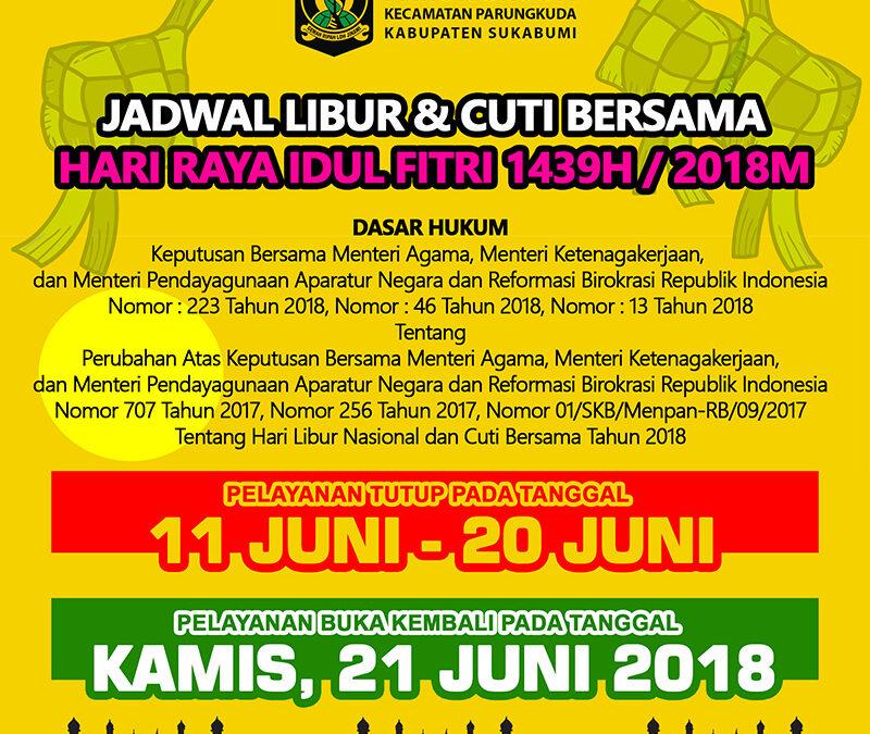 Jadwal Libur dan Cuti Bersama Idul Fitri 2018